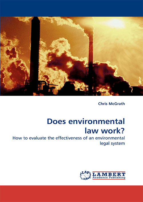 Cover of Does Environmental Law Work? by Chris McGrath