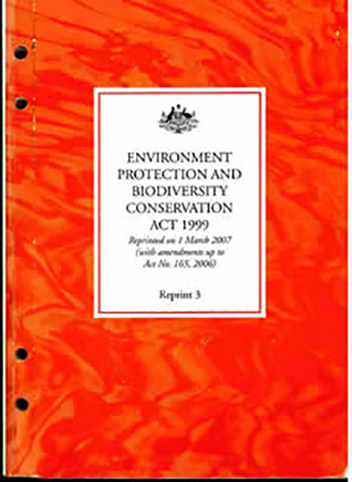Environment Protection and Biodiversity Conservation Act 1999