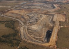 Aerial photo of Isaac Plains Coal Mine (ca 2013).  Picture: Isaac Plains Coal